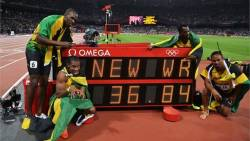 Jamaica claim Relay gold in record time