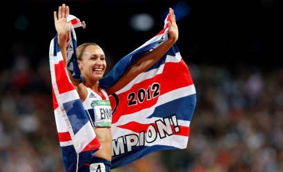 Jessica Ennis and Mo Farah make Olympic history