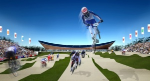 Work begins on BMX track ahead of London 2012 Olympics