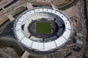 Construction complete on London 2012 Olympic Stadium