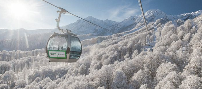 Rosa Khutor welcomes 800,000 tourists during winter 2017