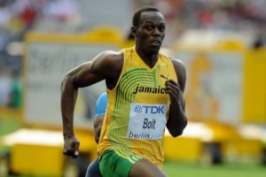 Usain Bolt leads Jamaican team into Olympic Stadium