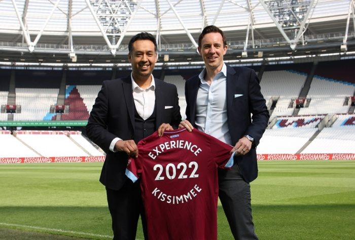 West Ham United extend Experience Kissimmee partnership