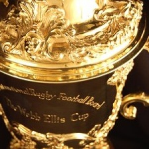Rugby world cup statement on the Webb Ellis Cup