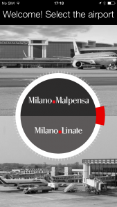 New passenger app from Milan Airports