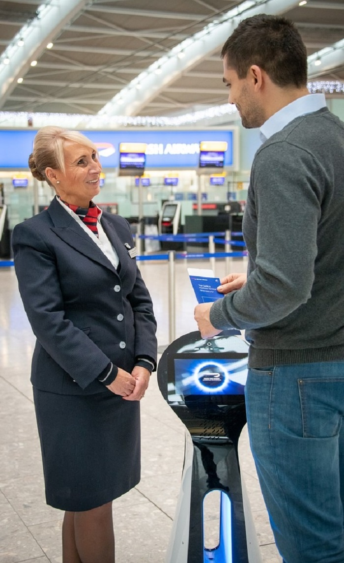 Robots to guide British Airways passengers through Heathrow