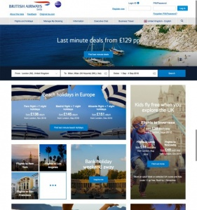 British Airways goes live with new website