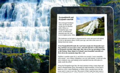 Discover The World provides ipad touring to Iceland clients