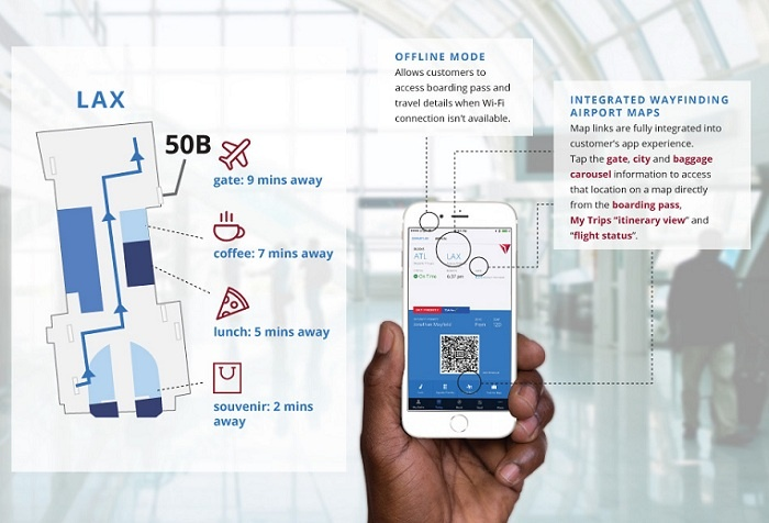 Delta Air Lines launches latest mobile app