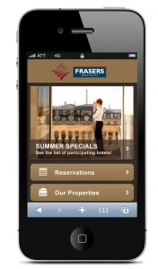 Frasers Hospitality launches new mobile website