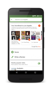 Google Play Music links with TripAdvisor for summer music