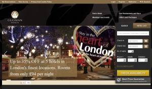 New look website for Guoman Hotels