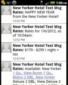 Hotel text messaging app promises to increase hotel room sales