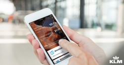 KLM launches new smartphone app
