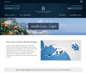 New website from Leading Hotels of the World