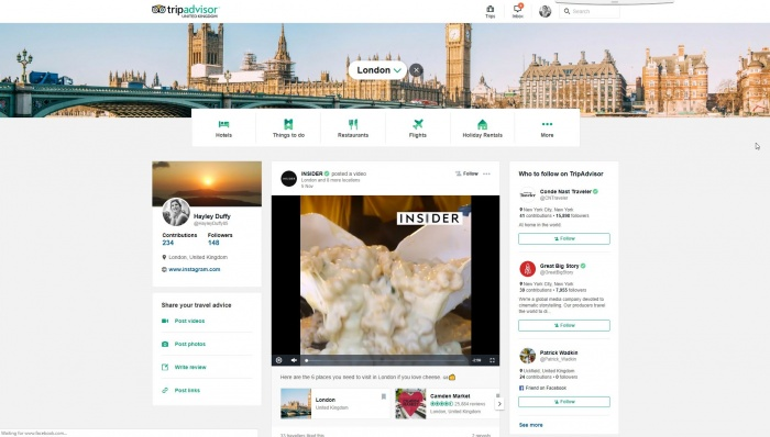 TripAdvisor overhauls offering with new community focus