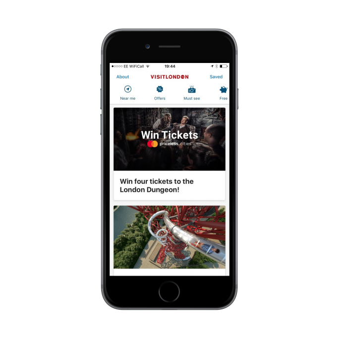 London & Partners launches new visitors app in partnership with Mastercard