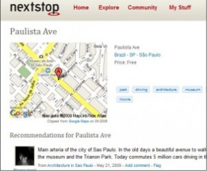 Facebook buys NextStop