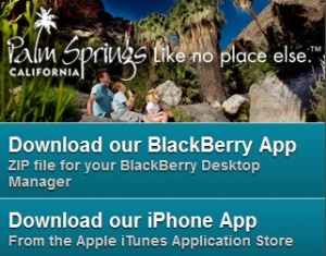 New mobile app from Palm Springs Bureau of Tourism