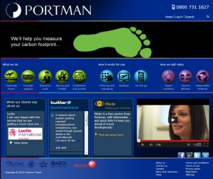New online presence from Portman