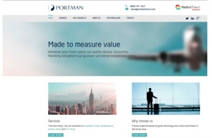 Portman launches new website to UK travel trade
