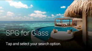Starwood launches Google Glass platform