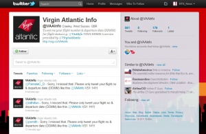 Virgin Atlantic to offer flight status updates via Twitter