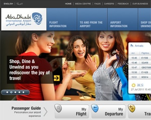 Abu Dhabi Airport launches first personalised airport website