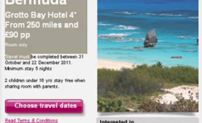 New facebook app for Airmiles Travel reward programme