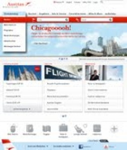 Austrian Airlines unveils new website