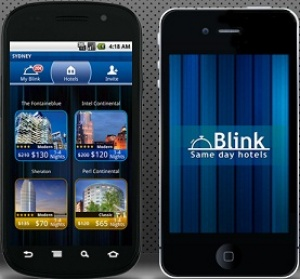 Blink mobile app offers 4 & 5 star hotels for less than on the web