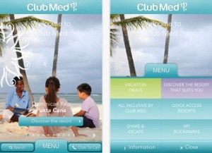 Club Med launches innovative application for iPhone and iPad
