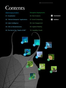Tech trends 2011 IPad app