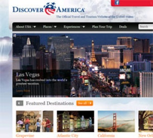 DiscoverAmerica.com relaunches website