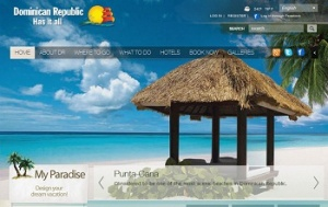 Official tourism website of Dominican Republic earns rave reviews