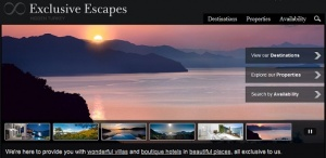 Exclusive Escapes unveils brand new website