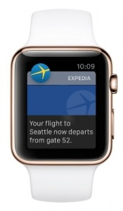 Expedia unveils app for Apple watch