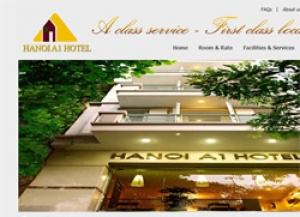 Online reservation system now integrated at Hanoi A1 Hotel website