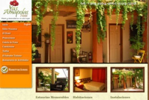 Hotel Las Amapolas introduced Web 2.0 technologies to their website