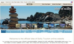 New Mind wins Simply Scilly Tourist Board website project