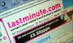 lastminute UK boss quits