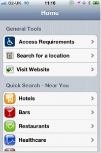 Inclusive London iPhone app will give visitors to London accessibility information on the go