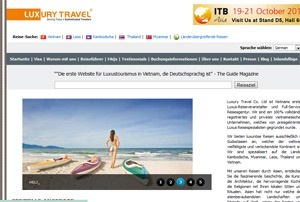 Luxury Travel launches German website