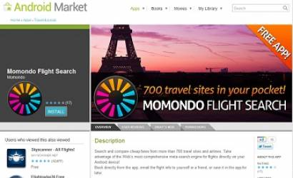 Momondo launches Android travel app