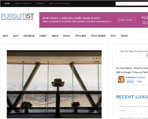 The luxury online destination Pursuitist.com officially launches