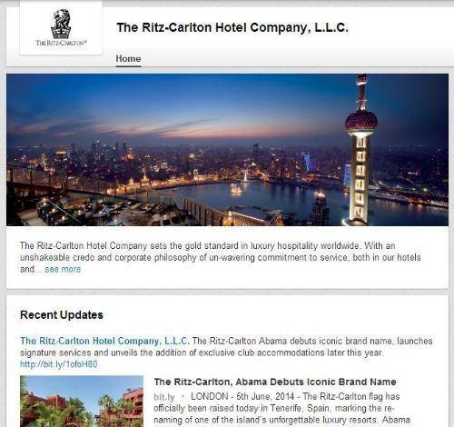 value does focus gold standards have ritz carlton hotel co
