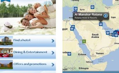 New Rotana mobile booking app