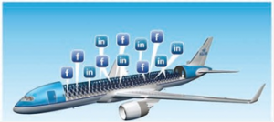 KLM's Meet & Seat connects flyers through social media
