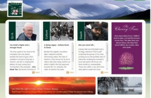 New website launched on Kashmir