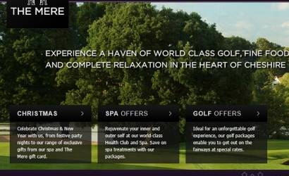 The Mere Golf Resort & Spa launches new website